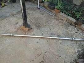 Stick 200 cm / 2 meter, stick barbel/dumbell