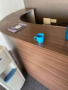 offfice reception table
