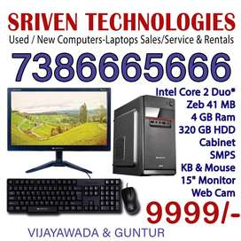 New Computer 1Year Warranty -for Online Classes/ Work Form Home-Chanti