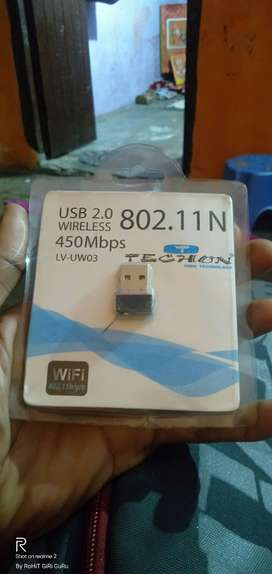 USB 2.0 wireless  Receiver for Laptop and Desktop
