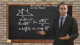 I m a math teacher