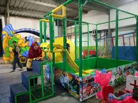mandi bola portable playground full assesoris 11 odong