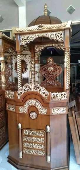 mimbar masjid kubah terbaru new