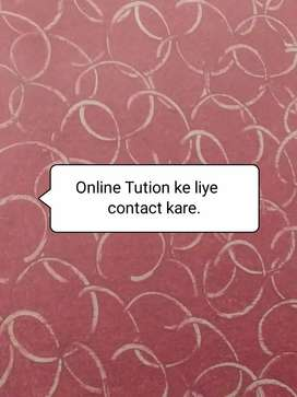 Online classes/tution from 1 to 12