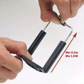 Kepala holder tongsis U-kepala tripod tongsis hp smartphone