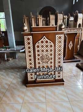 Mimbar podium masjid E282 kode