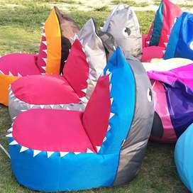 Beanbag shark kekinian waterproof