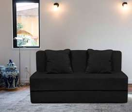 Sofa cum bed 6x3 with cushio at resonable price