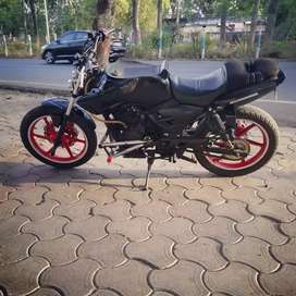 Tvs apache rtr 180 stunt motorcycle for sale