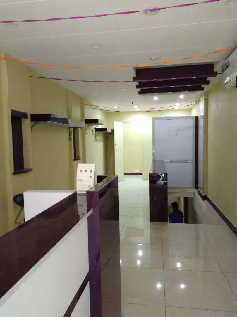 Shop for rent zamzama with basement 0