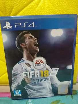 Fifa 18 kaset PS4 second