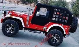 Open & Close Modified Mahindra Jeeps