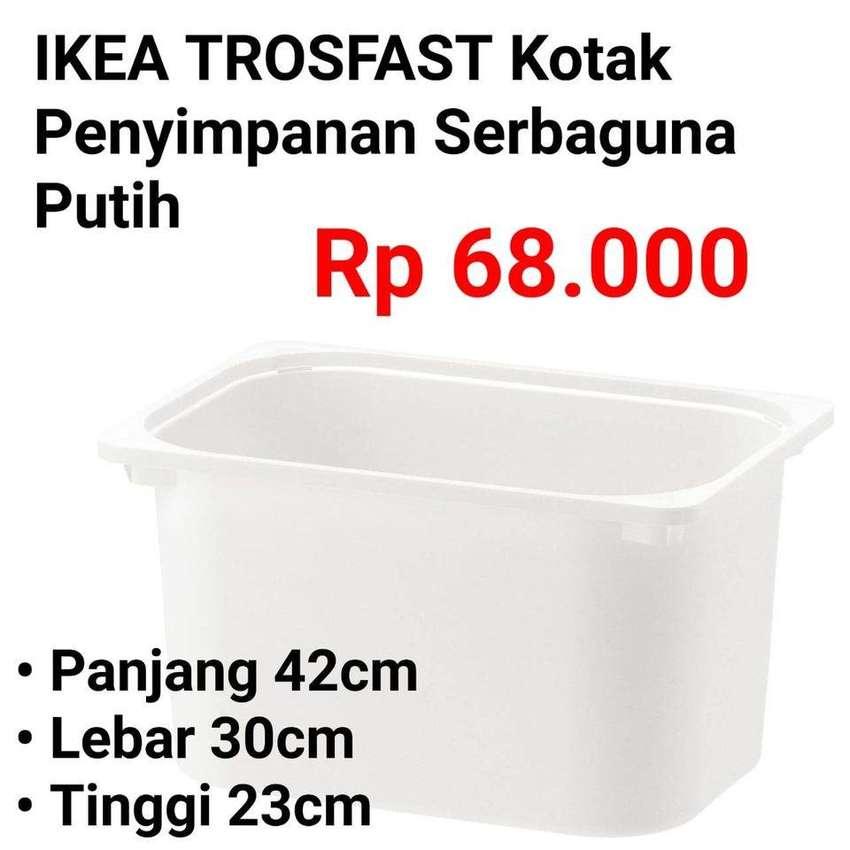 IKEA 428 TROFAST B Kotak penyimpanan Putih 42x30x23cm