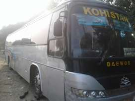 deawoo buss without kamani a.c refrigerate on engine 100% ok
