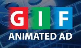GIF Animated Ad Making