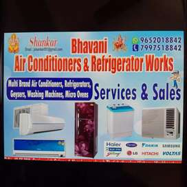 Ac repairs and services ac installation gas refilling