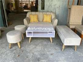 Sofa set Lengkap scandinavian
