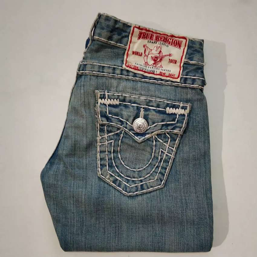 Jual jeans import made in USA True Religion size 26/30/lp80/pj100/lb23 0