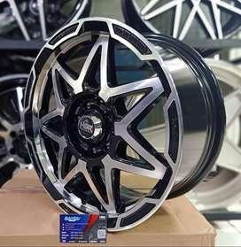 Velg Mobil Racing HSR TRAGAH Ring 15 For Brio,Avanza,Xenia,Sigra Dll