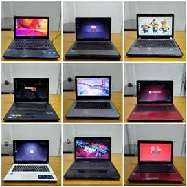 Laptop Second Asus, HP, Dell, Lenovo Harga Mulai 2Jt an Kondisi 95%!