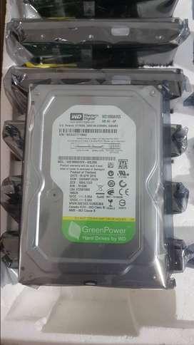 Baru Harddisk HDD WD 160GB 3,5 Sata Internal