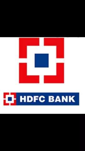 Hdfc bank job hiring all India.