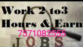 Just in time job available here( work at home)
