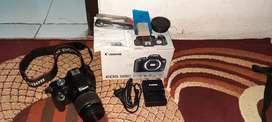 JUAL Canon EOS 500D FULL SET
