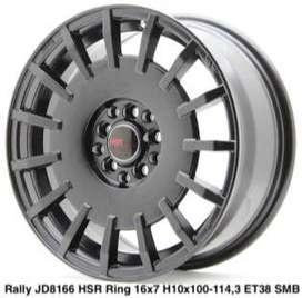 VELG BALI MURAH RALLY HSR R17X7 H8X100-114,3 ET45 SMB