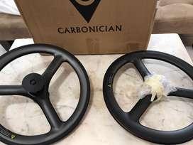 Wheelset 3spoke fnhon carbonician Vbrake