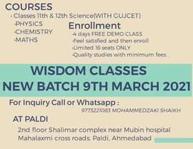 Science Classes PCM At Paldi