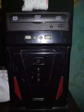 Computer CPU with dvd player Dual operating system&preinstalled games