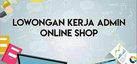 DICARI ADMIN / PACKING ONLINE SHOP WANITA PADEMANGAN JAKARTA UTARA