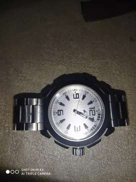 Orignal Fastrack watch silver dial 7 months old