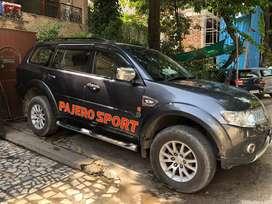 Pajero sports car delhi number