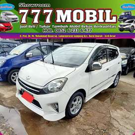 Toyota Agya TRD Sportivo 2014 bisa proses kredit bisa tukar tambah 777