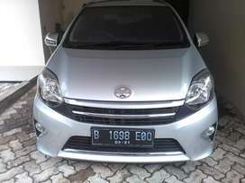 Dijual Agya G AT 2016 super Antil KM10 rb Asli sperti Baru
