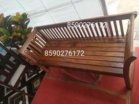 Factory sale-Teak wood visiting bench