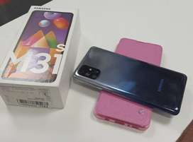 SAMSUNG M31S WITH CHARGER, BOX, PHONE COVER AND COMPANY WARRANTY
