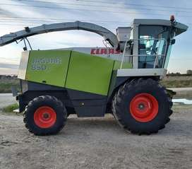 CLAAS JAGUAR 850 MODEL 2002 SILAGE MACHINE