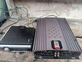 Power NERO 4 channel plus tape JVC cd borongan
