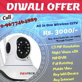 Home/Office/Shop security is in your mobile with wifi CCTV Camera