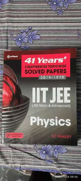 41 years Iit-jee chapter wise solved papers(1979-2019) by DC pandey