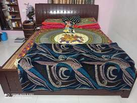 King size Bed without matress