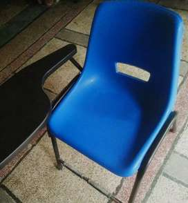 School chairs blue color in A1 condition.40 chairs available