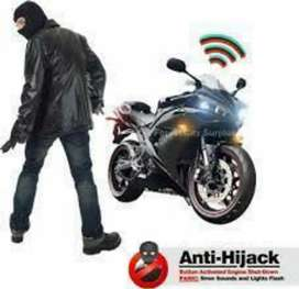 Bike GPS TRACKER Location on Mobile Self Control pta approved