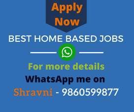 We provide genuine home based data entry work. 100% genuine jobs