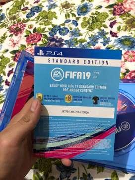 Dijual kaset ps4 Fifa 19 masih seger dan baguss