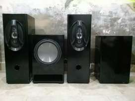 High quality bass & speakers