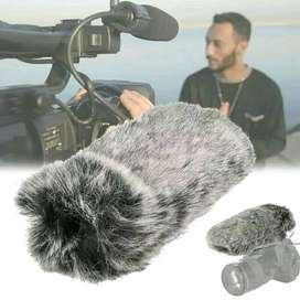 Furry Windshield Windwuff / Filter Bulu Cover for RODE, TAKSTAR, dll
